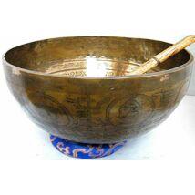 1863 grammos tibeti hangtál mantrás  7 fémből készült