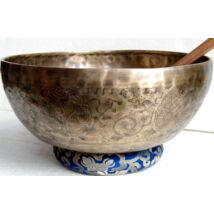 Tibeti hangtál 7 fémből mantrás 4420 gramm