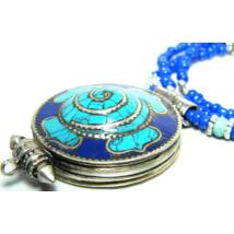 spiral-gao-nyaklanccal-turkiz-lapisz-szin-mandala