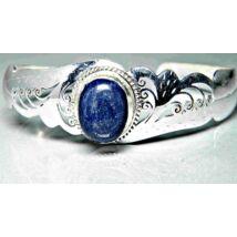 lápisz lazuli csipkés karperec