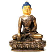 Sakyamuni Buddha szobor tibeti oltárra