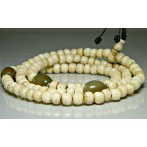 törtfehér-csont-mala-tibeti-rez-osztoszemmel-108-szemes