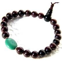 gránát-mala-tibeti-türkiz-oszto-21-szem-onyx-guru