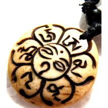 mantras-csont-nyaklanc-allithato-buddha-szeme
