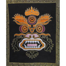 Mahakala oltárterítő, falikép