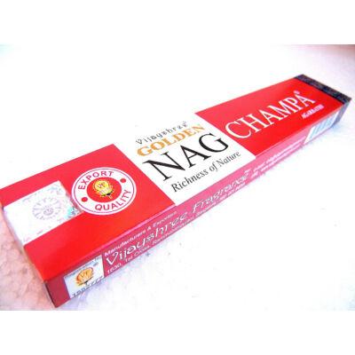 Nag Champa Golden Nag Champa füstölő India kedvence