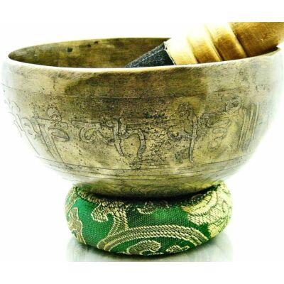412-grammos-tibeti-mantras-hangtal-7-fembol-keszult-zold-brokattal