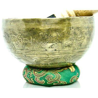 462-grammos-tibeti-mantras-hangtal-7-fembol-keszult-zold-brokattal