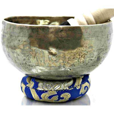 401-grammos-tibeti-mantras-hangtal-7-fembol-keszult-kék-brokattal
