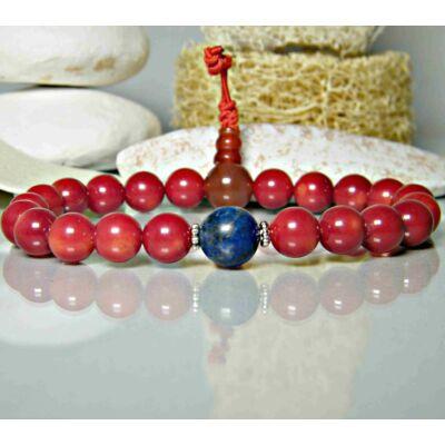 tibeti-hegyi-korall-piros-mala-lapisz-lazuli-oszto-21
