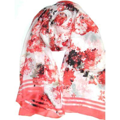 cseresznyeviragzas-piros-feher-fekete-mintas-selyem-sal-mintas-100x170-cm