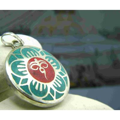 medal-buddha-bolcsessegszeme-turkiz-korall