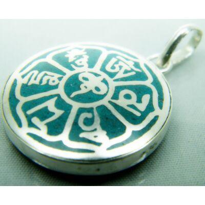 buddha-bolcsessegszeme-mandala-medal-turkiz