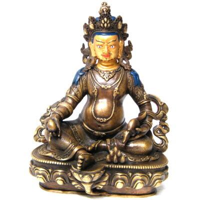 Dzambala Buddha szobor tibeti oltárra