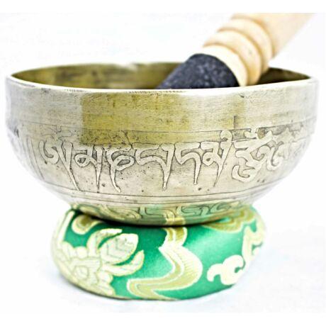 325-gramm-tibeti-mantras-hangtal-zöld-brokattal