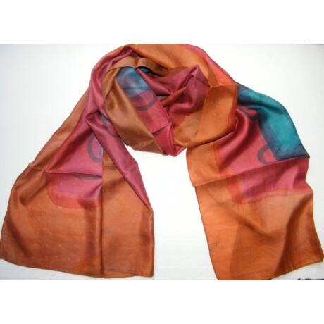rozsdavoros-selyem-sal-batikolt-50-170-cm