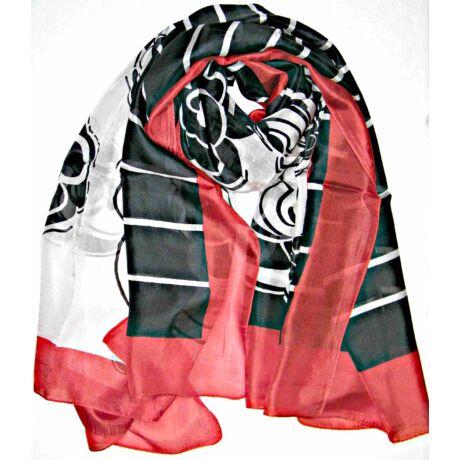 piros-fekete-feher-100-valodi-hernyoselyem-sal-100x170-cm