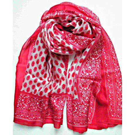 piros-fehér-100-valodi-hernyoselyem-sal-mintas-100x170-cm