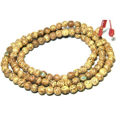 bodhi-fa-mala-tibeti-osztosnatur-szin-csiszolt-szem-108-tuzpiros-malazsinoron