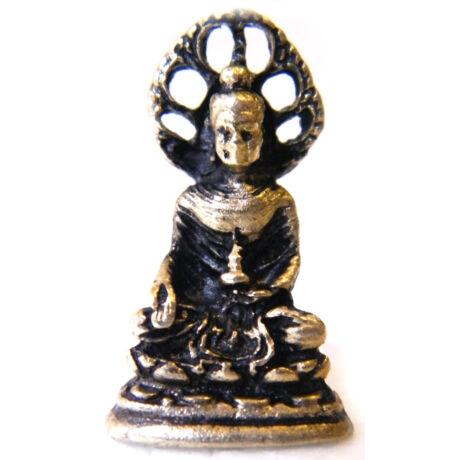 ülő Buddha szobor aszkézisben mini