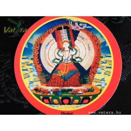 Eredeti tibeti buddhista Dukar matrica