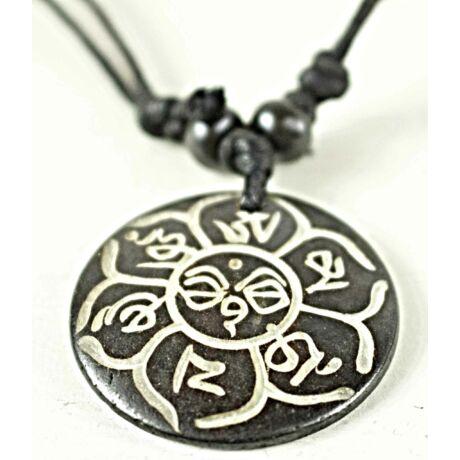 mantras-csont-nyaklanc-allithato-tibeti-ommanipemehung