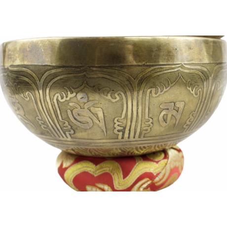 736-gramm-tibeti-mantras-piros-brokattal