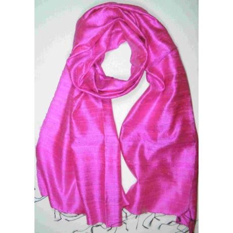 pink nyers selyem sál